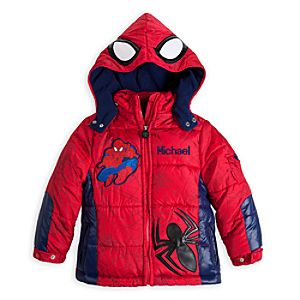 Spider-Man Puffy Jacket for Boys - Personalized