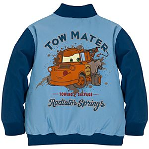Personalizable Varsity Tow Mater Jacket for Boys