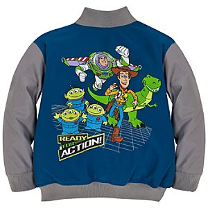 Personalizable Varsity Toy Story Jacket for Boys