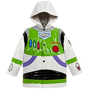 Buzz Lightyear Rain Jacket for Boys