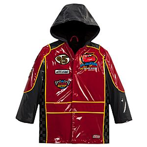 Cars 2 Rain Jacket for Boys