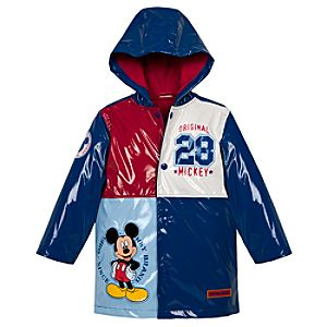 Mickey Mouse Rain Jacket for Toddler Boys