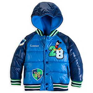 Mickey Mouse Puffy Jacket for Boys