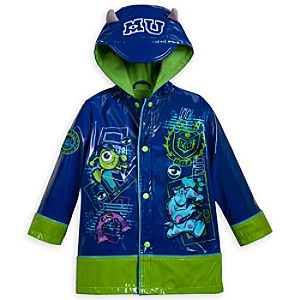 Monsters University Rain Jacket for Boys