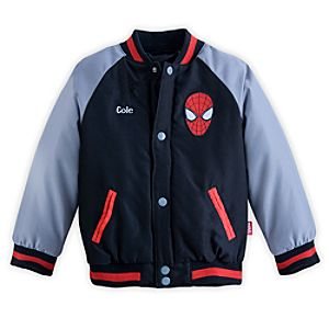 The Amazing Spider-Man Varsity Jacket for Boys - Personalizable