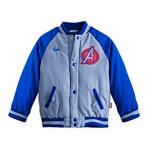 The Avengers Varsity Jacket for Boys - Personalizable
