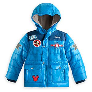 Mickey Mouse Puffy Jacket for Boys - Personalizable