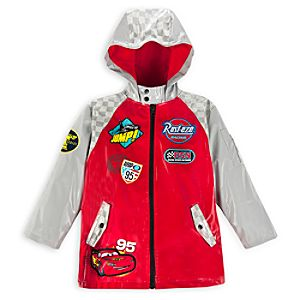 Cars Rain Jacket for Boys