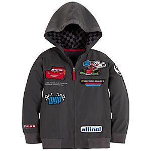 Personalizable Piston Cup Champion Lightning McQueen Cars 2 Jacket for Boys