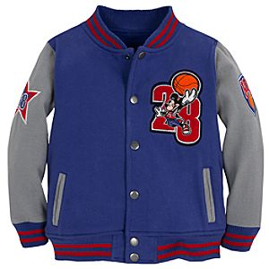 Varsity Mickey Mouse Jacket for Boys