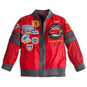 Cars Jacket for Boys - Personalizable