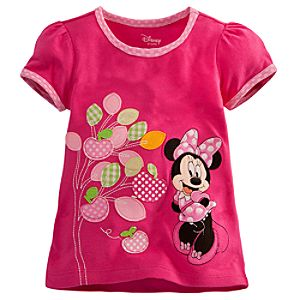 Minnie Mouse Tee for Toddler Girls