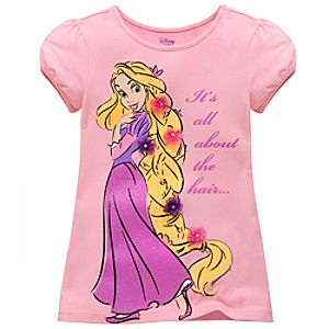 Tangled Rapunzel Tee for Girls