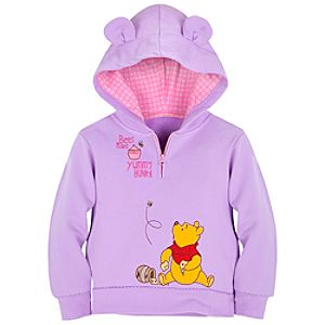 Winnie the Pooh Hoodie for Toddler Girls