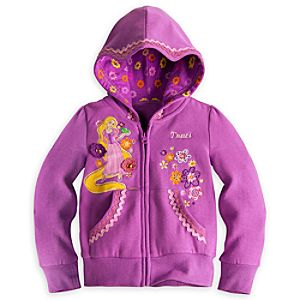 Rapunzel Hoodie for Girls - Personalizable