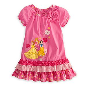 Disney Princess Woven Dress for Girls