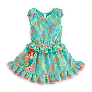 Ariel Woven Dress for Girls