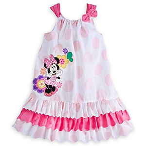 Minnie Mouse Clubhouse Woven Dress for Girls