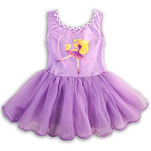 Rapunzel Tutu Leotard for Girls