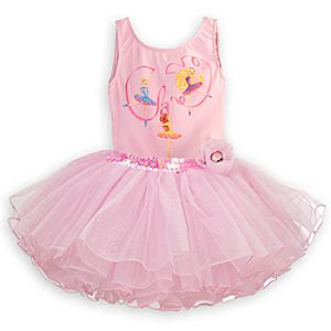 Disney Princess Deluxe Tutu Leotard for Girls
