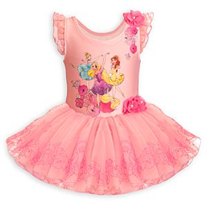 Disney Princess Deluxe Leotard for Girls