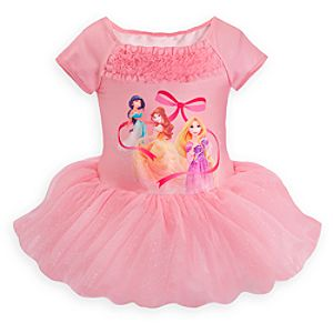 Disney Princess Ballet Leotard for Girls