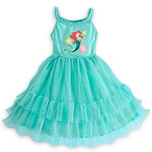 Ariel Mesh Dress for Girls