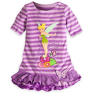Tinker Bell Knit Dress for Girls