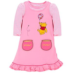 Winnie the Pooh Jumper Set for Toddler Girls -- 2-Pc.