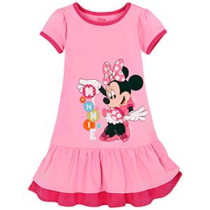 Layered Minnie Mouse Dress for Girls