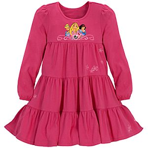 Tiered Disney Princess Dress for Girls
