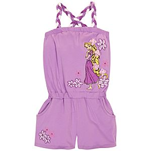 Romper Rapunzel Dress for Girls
