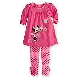 Minnie Mouse Dress Set for Girls -- 2-Pc.