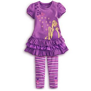 Rapunzel Dress Set for Girls -- 2-Pc.
