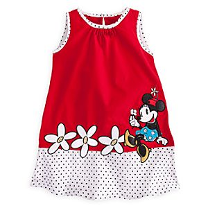 Minnie Mouse Woven Dress for Girls