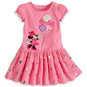 Minnie Mouse Foil Dress for Girls