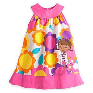 Doc McStuffins Woven Sun Dress for Girls