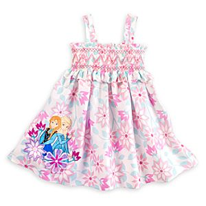 Anna and Elsa Sundress for Girls - Frozen