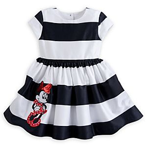Minnie Mouse Sun Dress for Girls - Striped