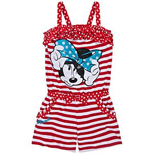 Romper Minnie Mouse Dress for Girls