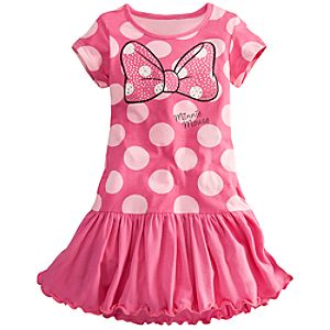 Bow Minnie Mouse Dress for Girls