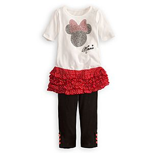 Signature Minnie Mouse Dress Set for Girls -- 2-Pc.