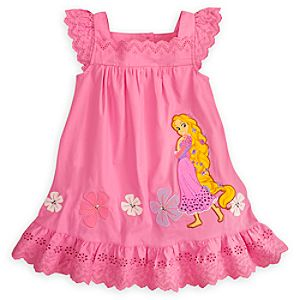 Rapunzel Woven Dress for Girls