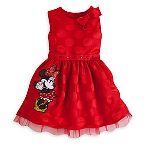 Minnie Mouse Deluxe Dress for Girls