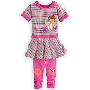 Doc McStuffins Dress and Leggings Set for Girls