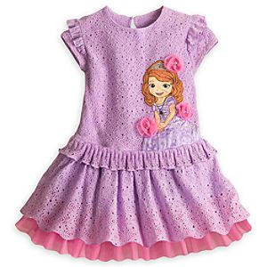 Sofia Woven Dress for Girls