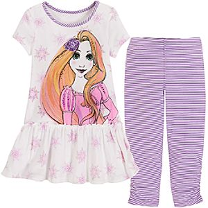 Tangled Rapunzel Dress Set for Girls -- 2-Pc.