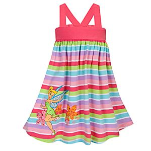 Chromatic Tinker Bell Dress for Girls