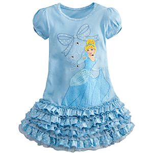 Ruffled Cinderella Dress for Girls