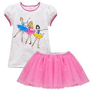 Ballet Disney Princess Tutu Set for Girls -- 2-Pc.